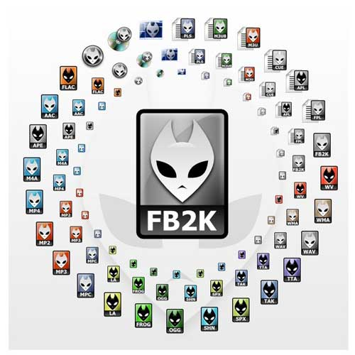 Foobar2000音乐播放器 最新Foobar2000中文版 1.2.7 下载